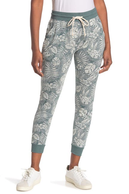 Image of Alternative Eco Classic Palm Printed Joggers