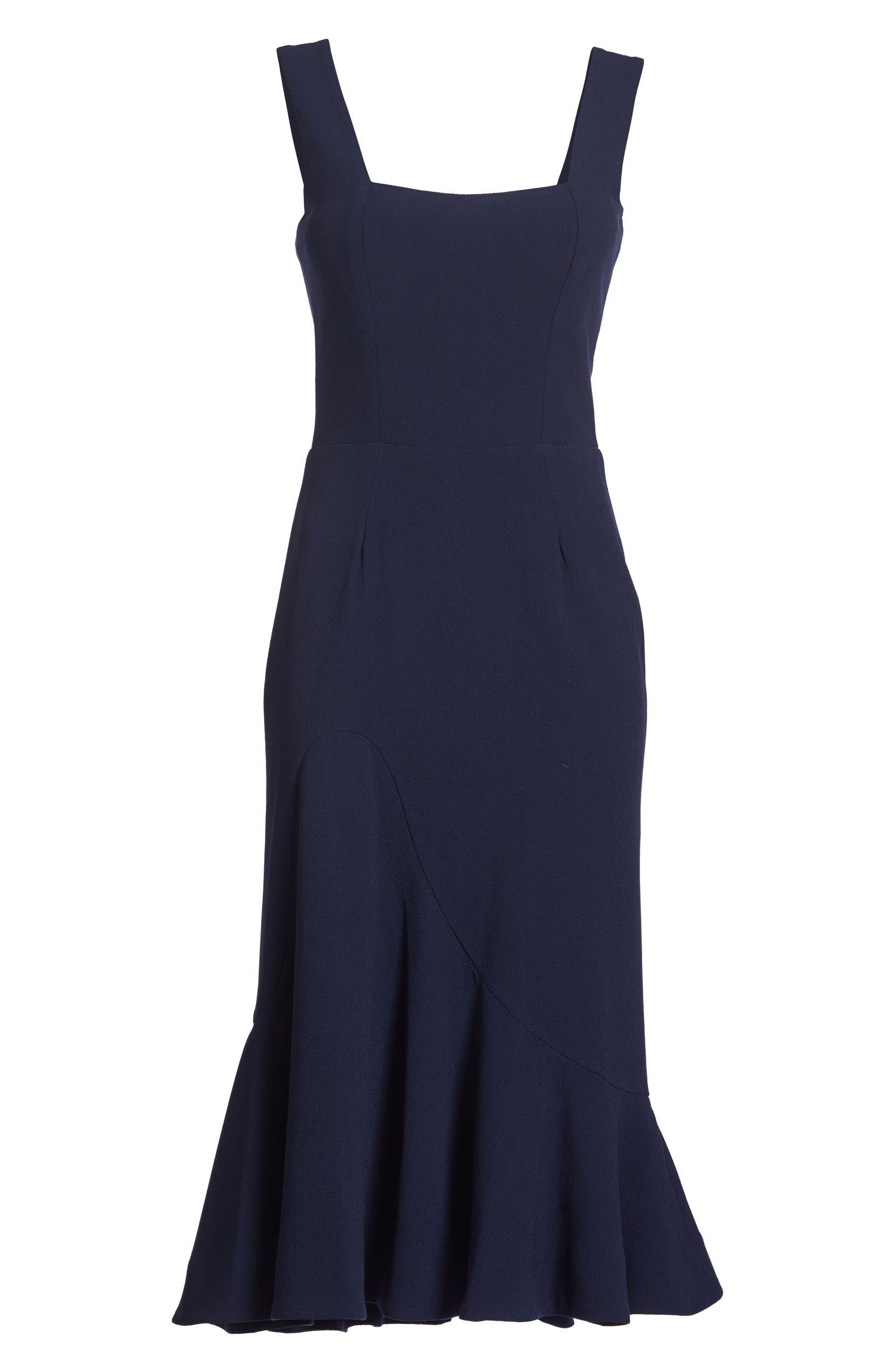 d2aa5f1c80a0 Dress the Population Monica Tea Length Trumpet Dress | Nordstrom