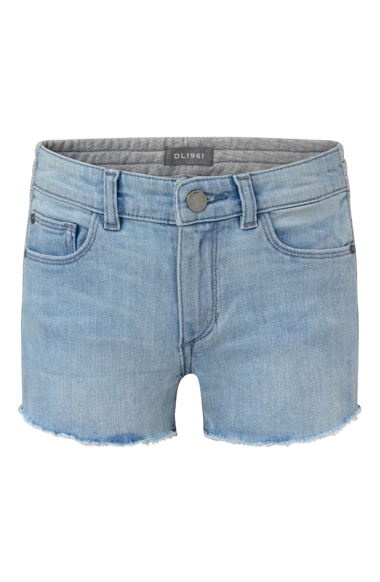 DL1961 Denim/Knit Shorts, Main, color, DEL RAY