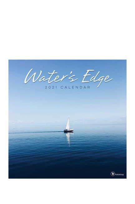 Image of TF Publishing 2021 Water's Edge Wall Calendar
