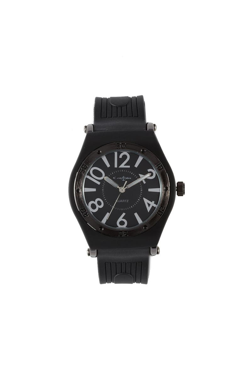 TITANIUM Silicone Watch, Main, color, 001