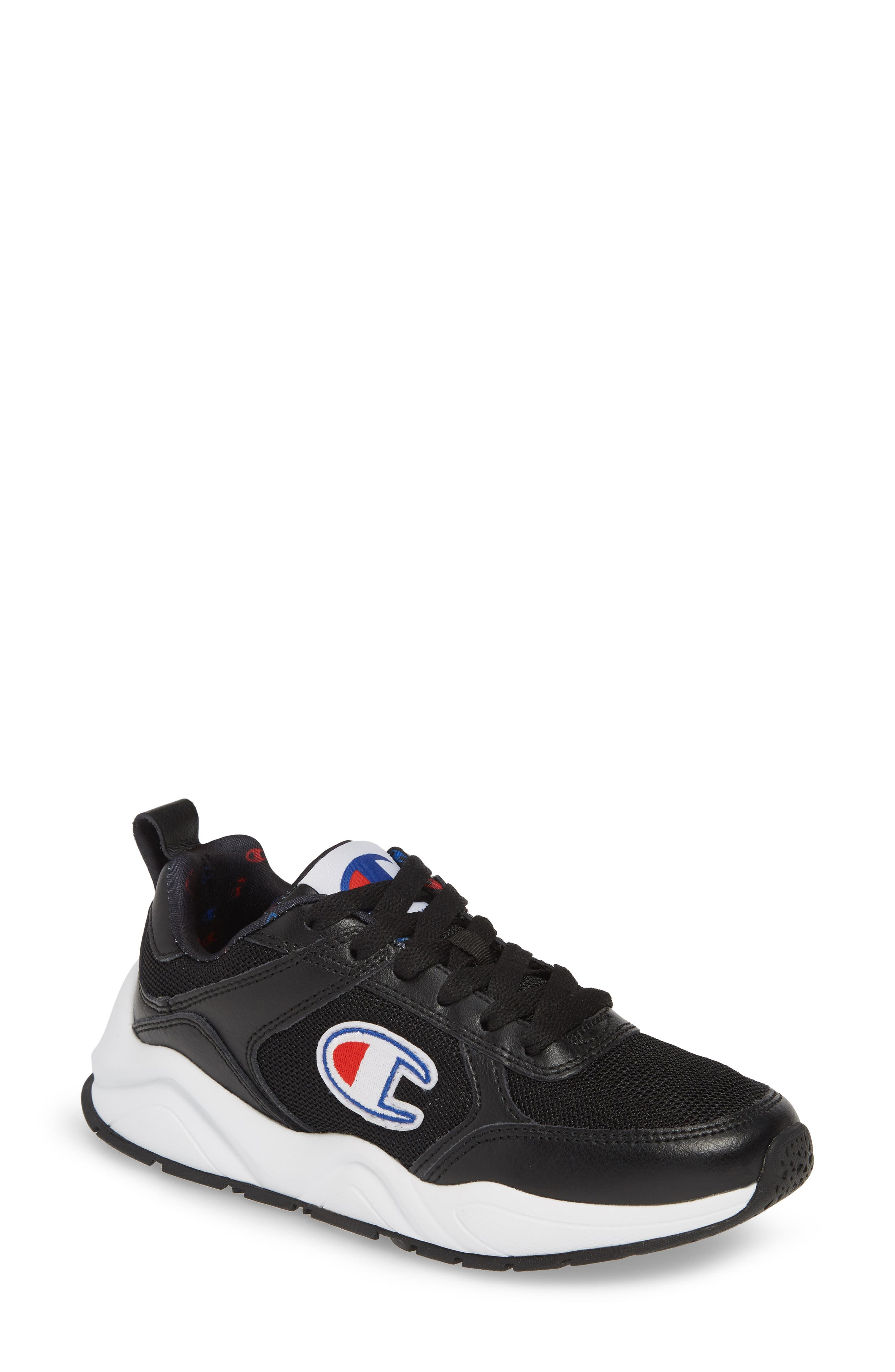 93 Eighteen Classic Sneaker, Main, color, BLACK