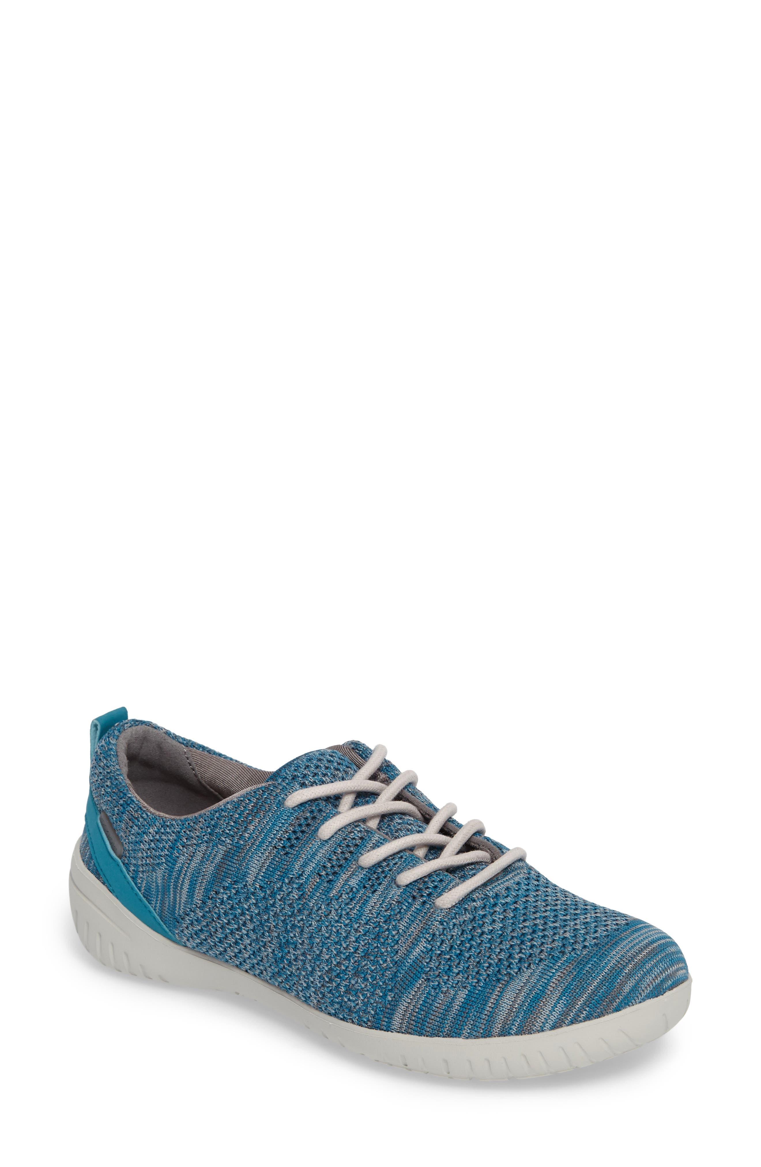 Rockport Raelyn Knit Sneaker, Blue/green
