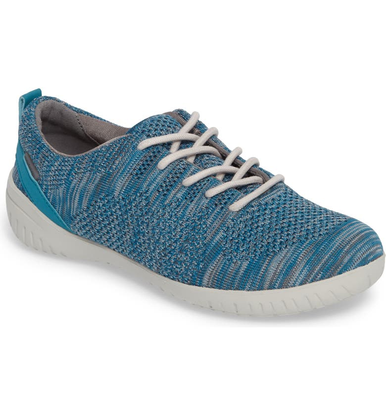 ROCKPORT Raelyn Knit Sneaker, Main, color, TEAL FABRIC