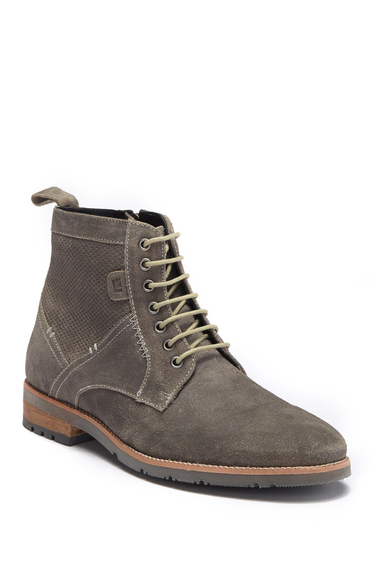 Image of Ben Sherman Rugged Perf Distressed Northern Suede Boot