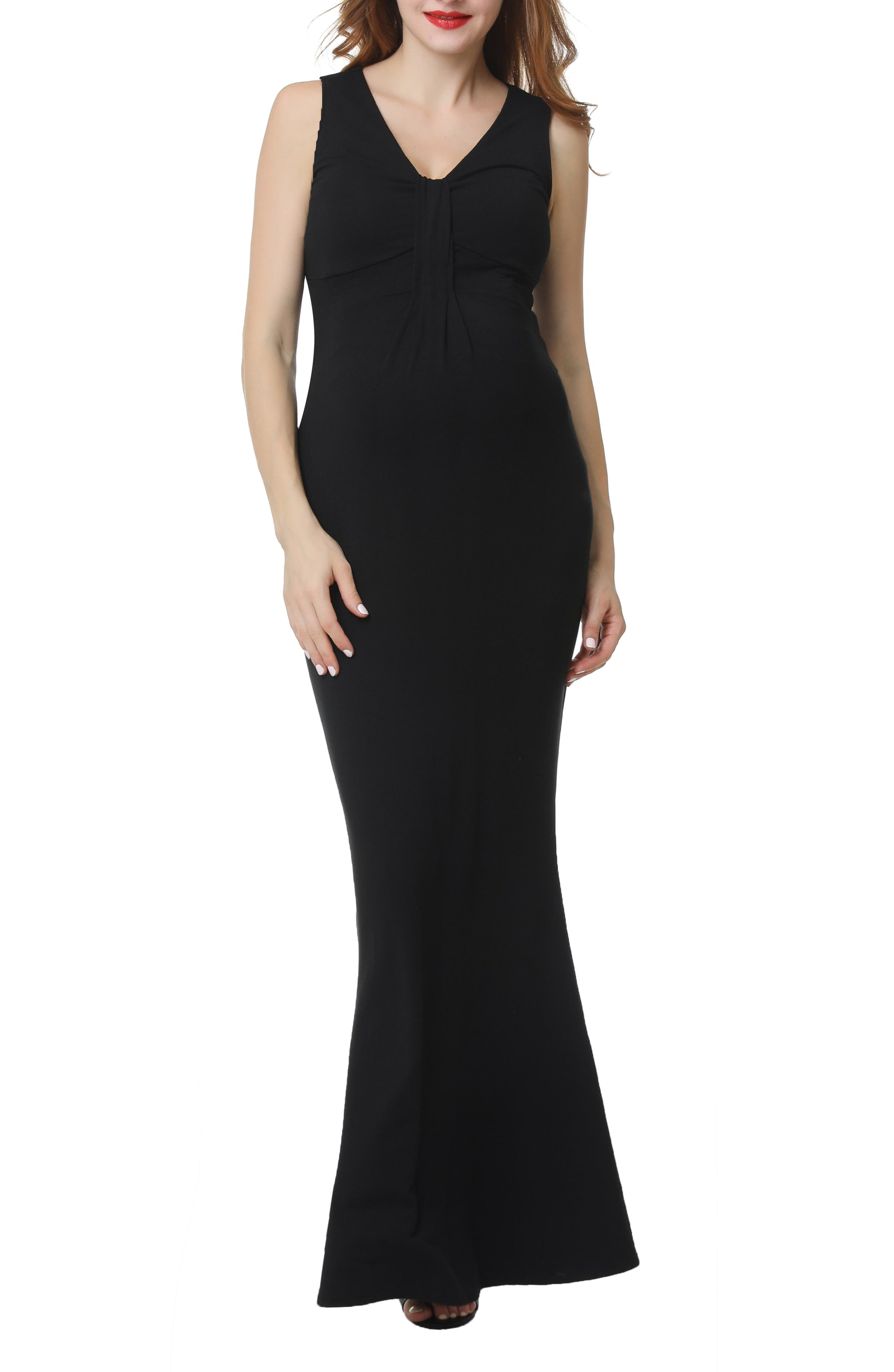 Impeccable ruching accentuates the bump-flattering fit of this mermaid gown that\\\'s ready for all your RSVPs this season. Style Name: Kimi And Kai Edrei Maternity Mermaid Gown. Style Number: 5719586. Available in stores.