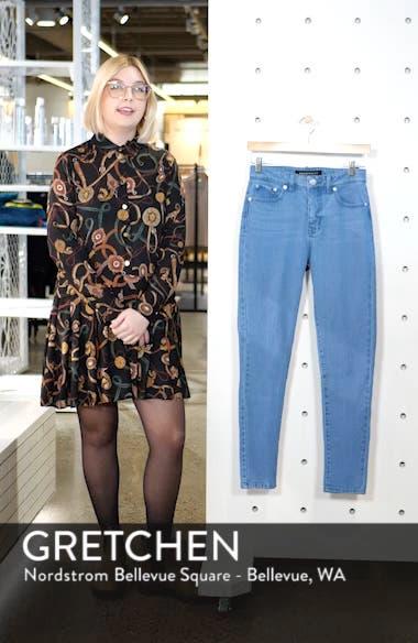 High Waist Vintage Skinny Jeans, sales video thumbnail