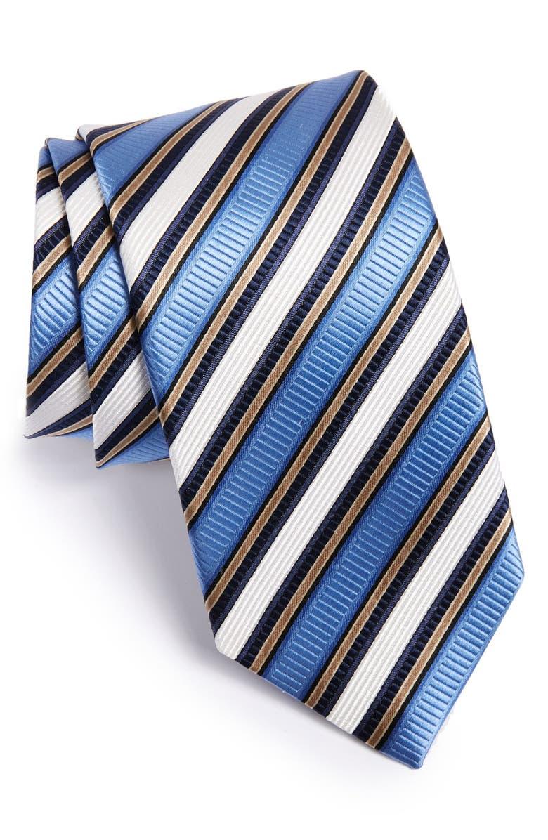 99f182799baf J.Z. Richards Stripe Woven Silk Tie | Nordstrom