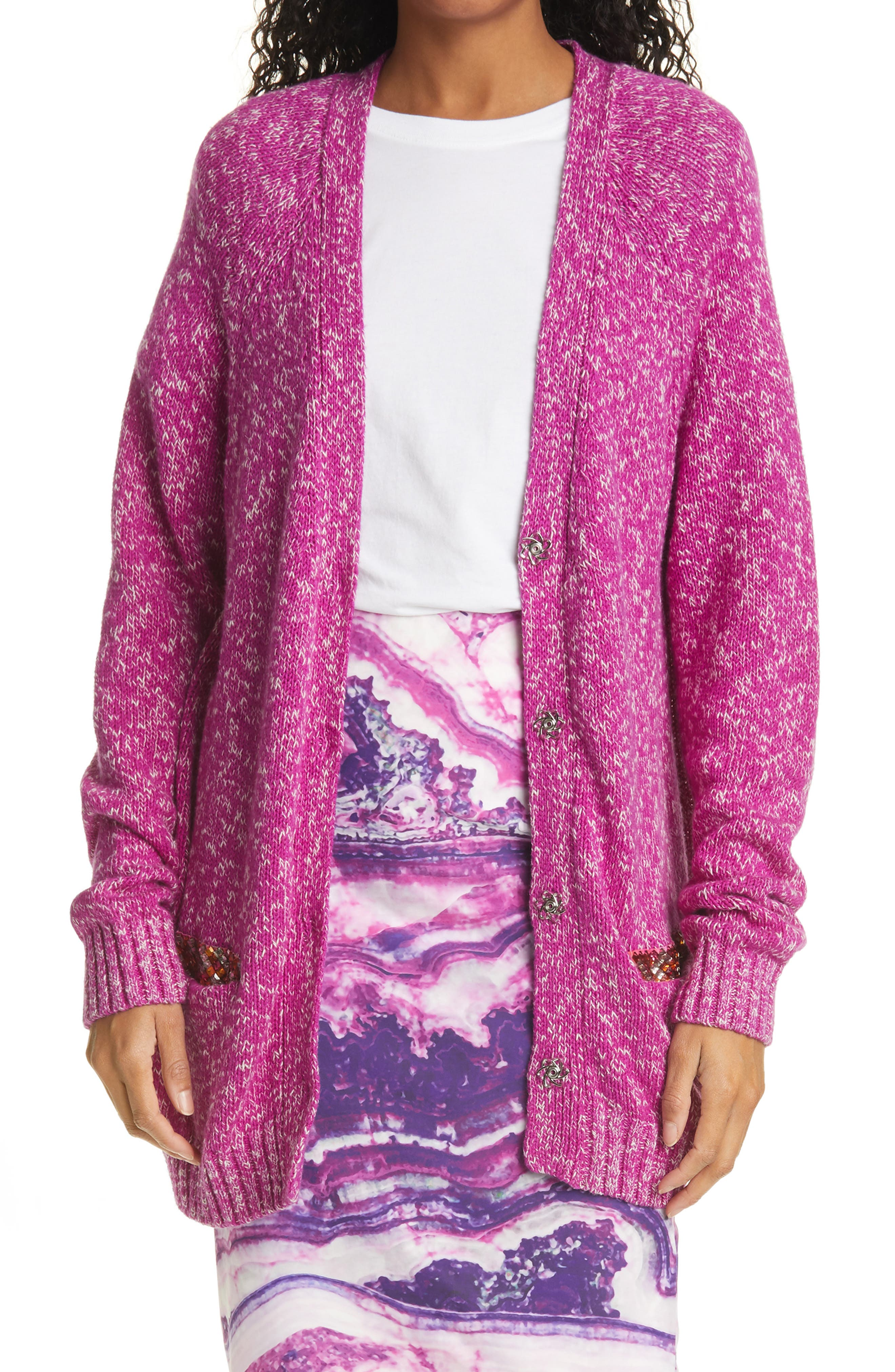 All The Time Silk Blend Cardigan