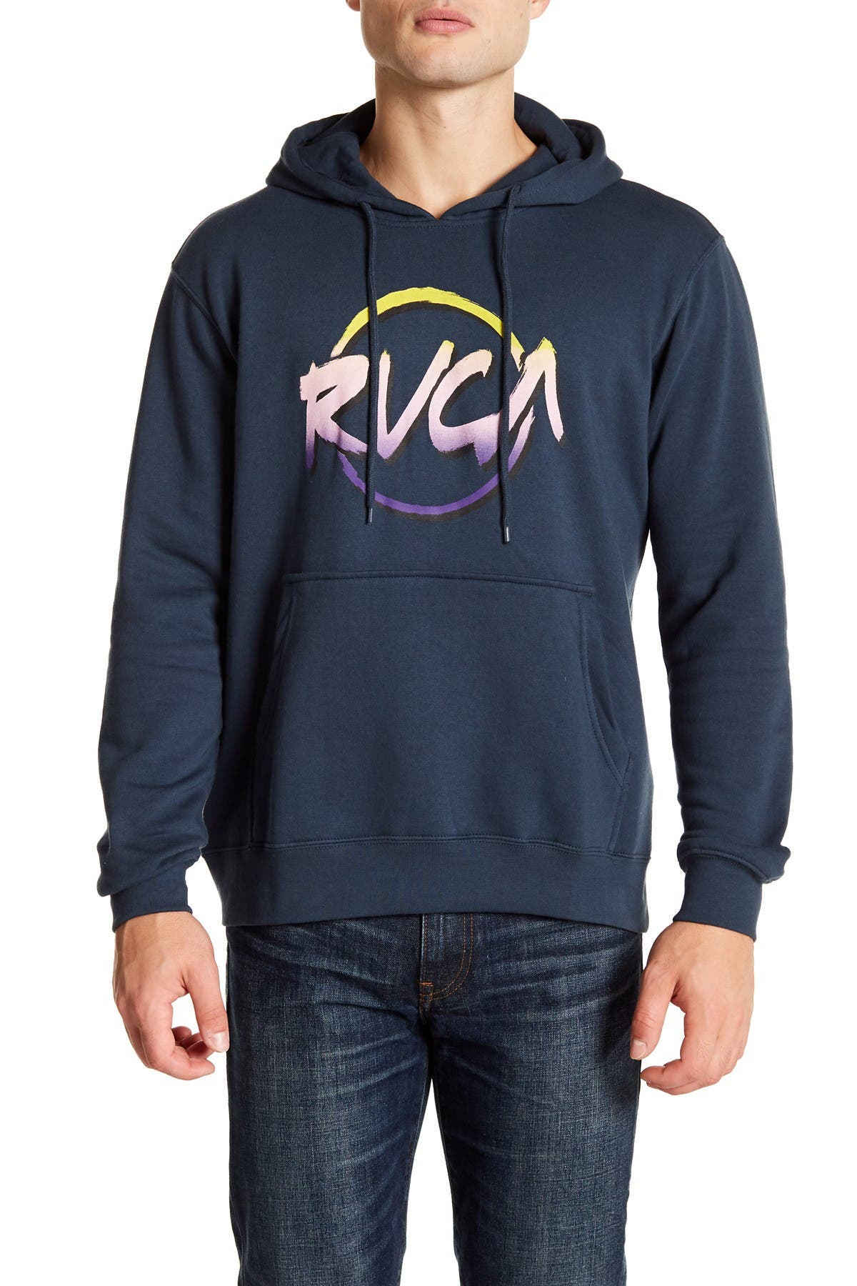 Image of RVCA Layd Back Fleece Hoodie
