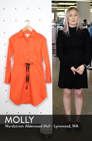 Tie Waist Shirtdress, sales video thumbnail