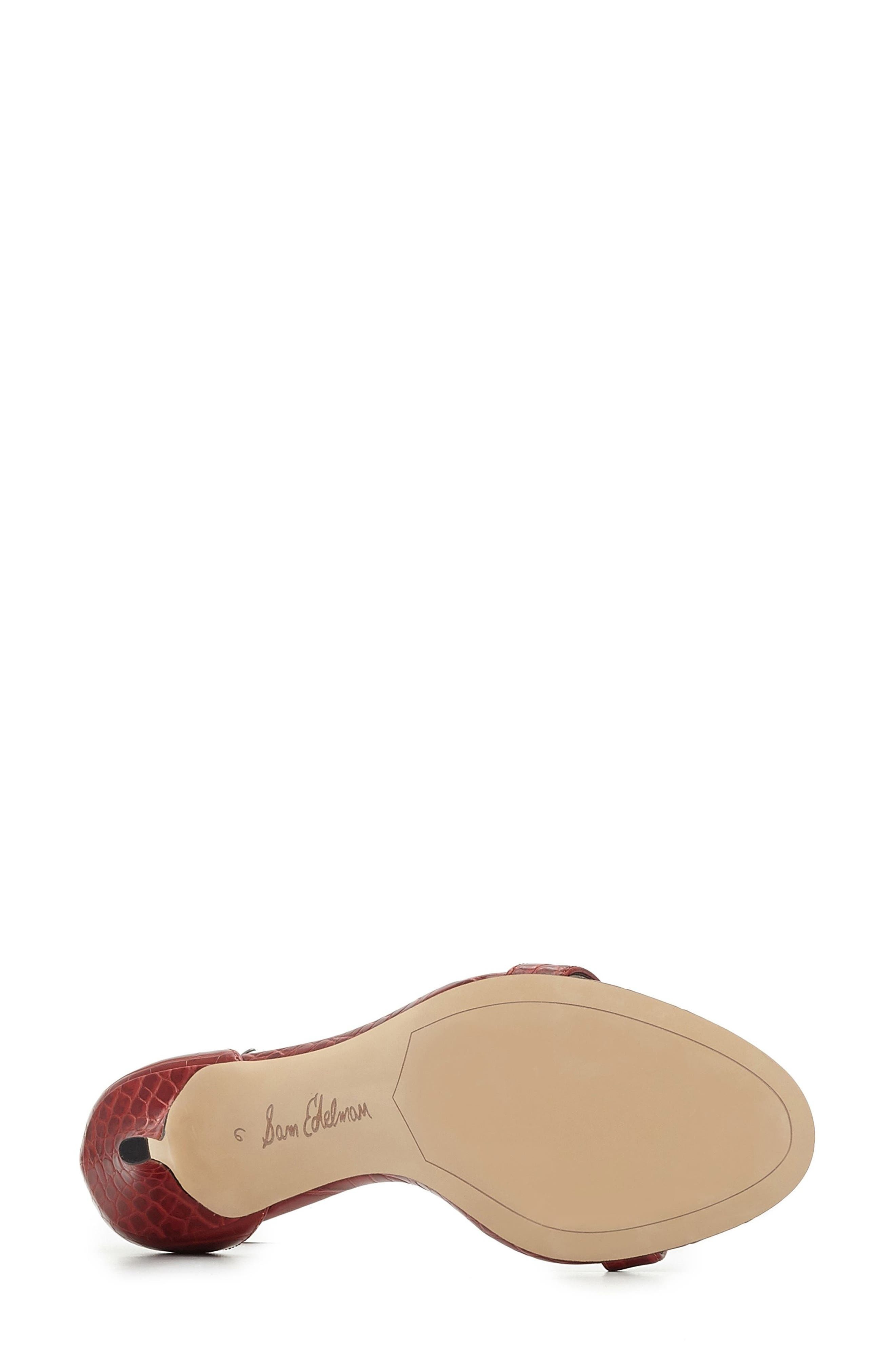 ,                             'Patti' Ankle Strap Sandal,                             Alternate thumbnail 113, color,                             602