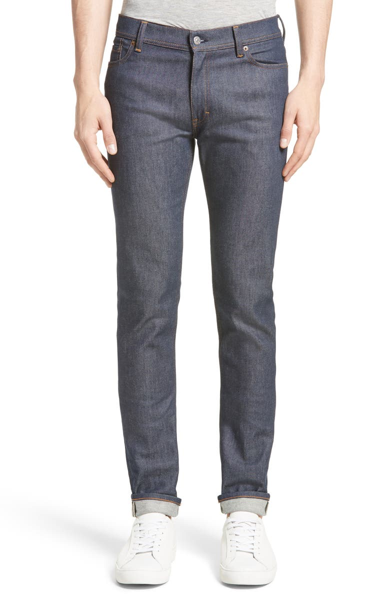 ACNE STUDIOS North Slim Fit Jeans, Main, color, INDIGO