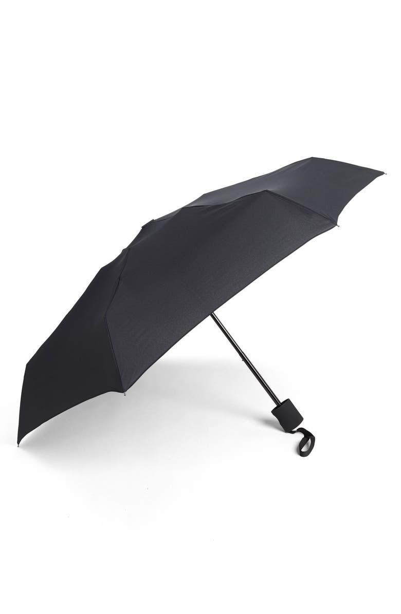 SHEDRAIN Supermini Flat Umbrella, Main, color, DAY BLACK