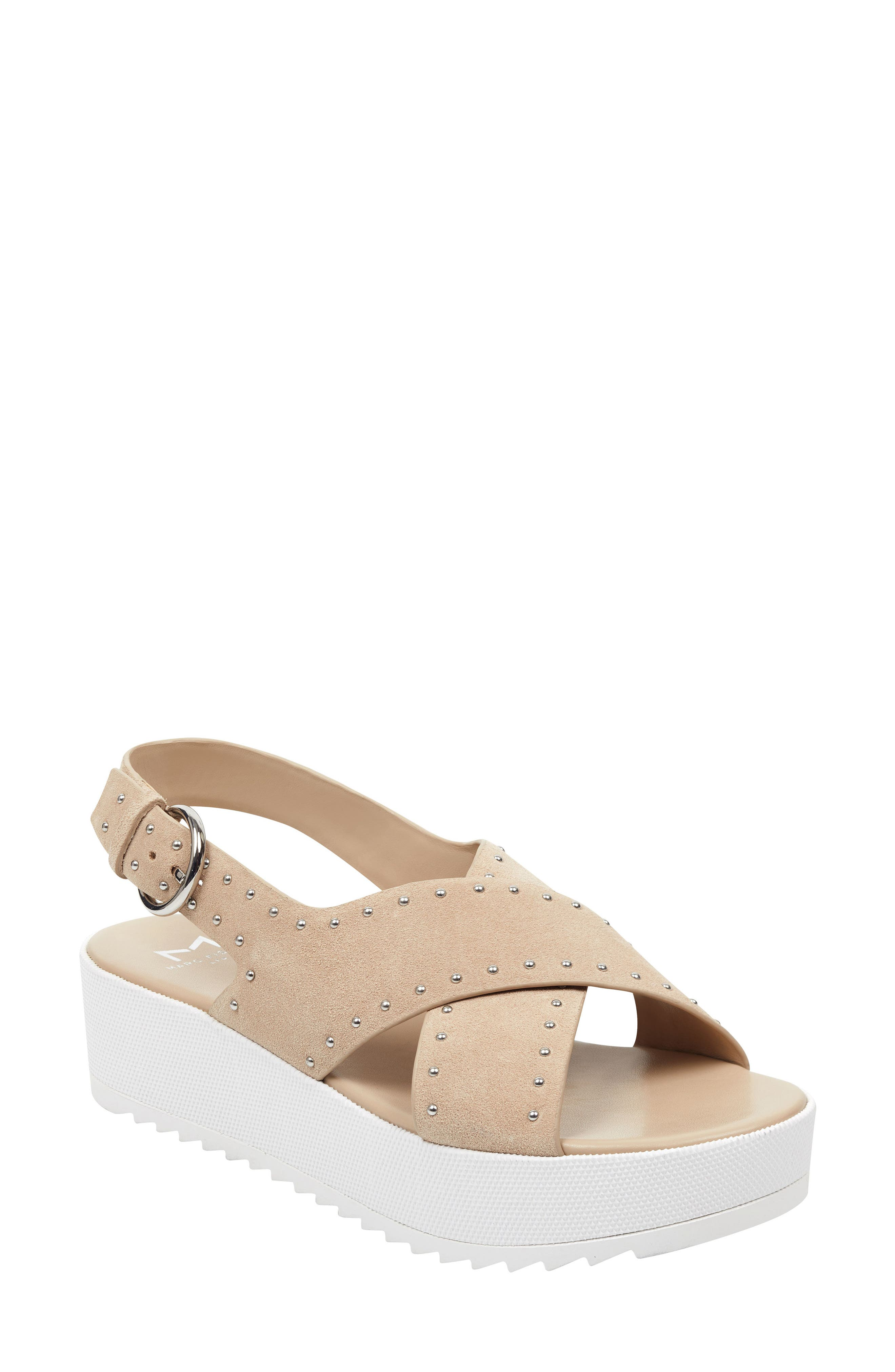 Marc Fisher Ltd Delilah Slingback Sandal, Beige
