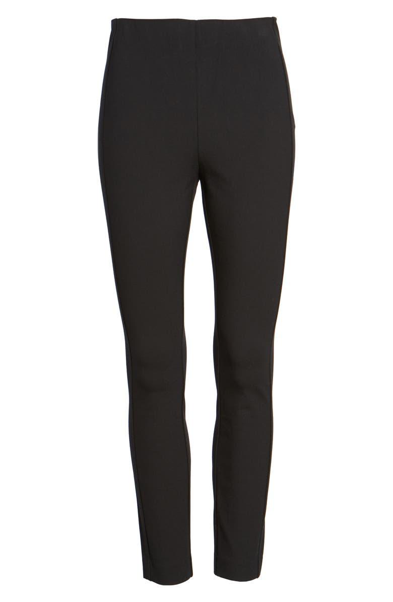 RAG & BONE Simone Slim Ankle Pants, Main, color, BLACK