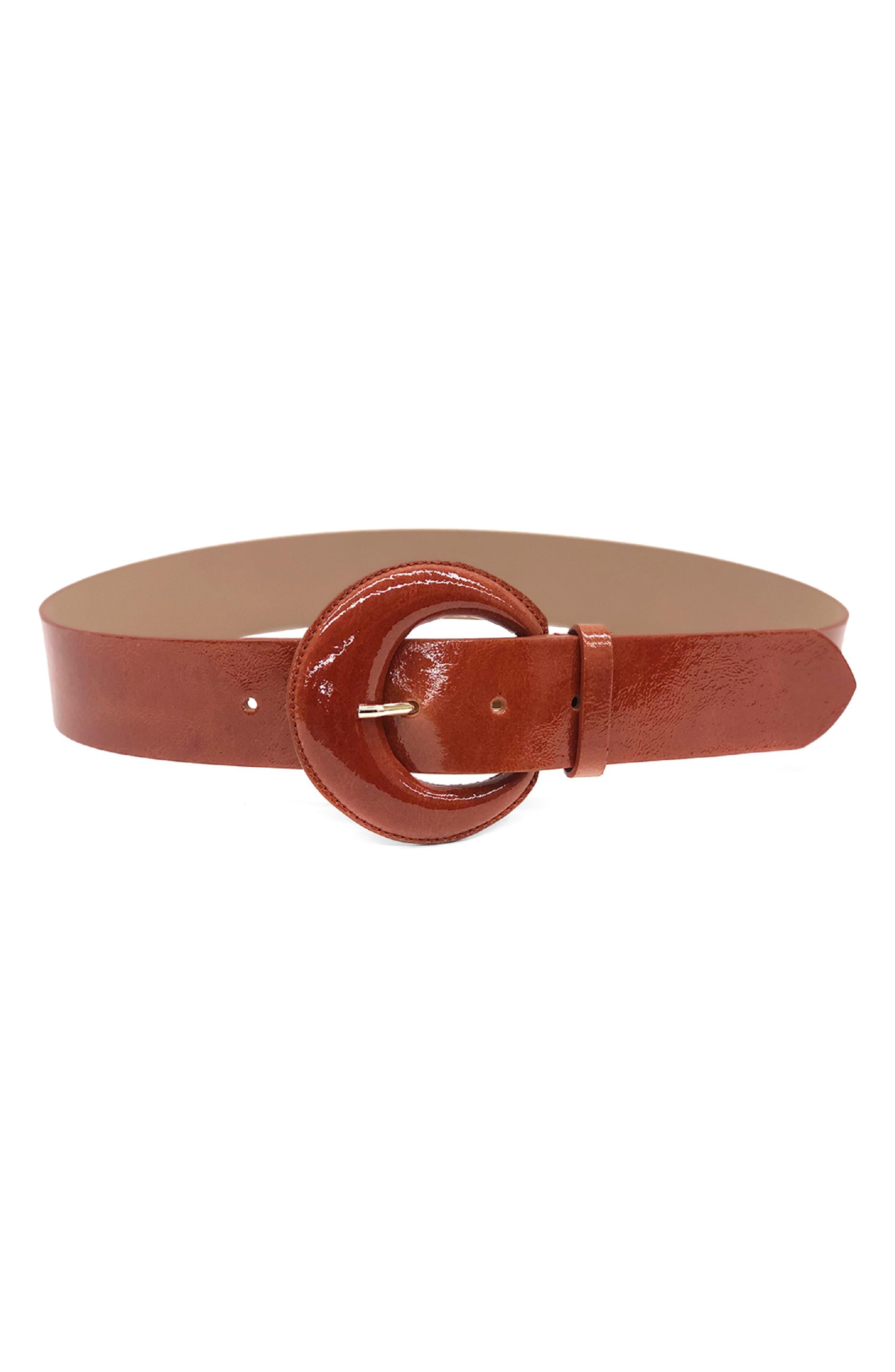 Mini Maura Patent Leather Belt