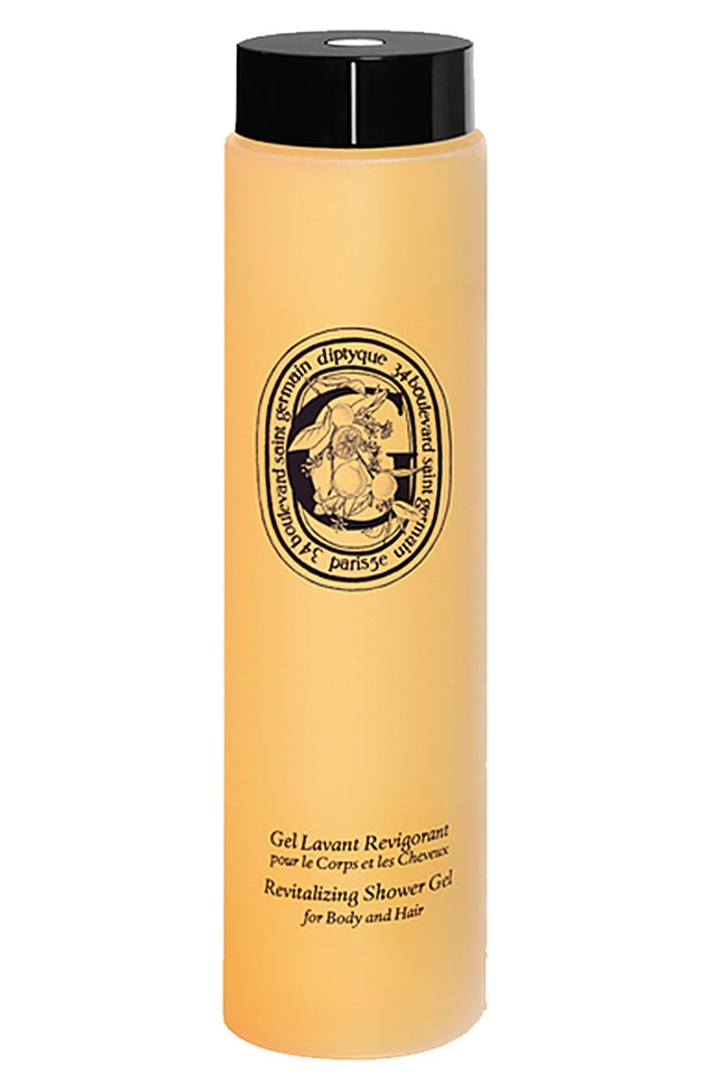 DIPTYQUE Revitalizing Shower Gel for Body and Hair, Main, color, NO COLOR