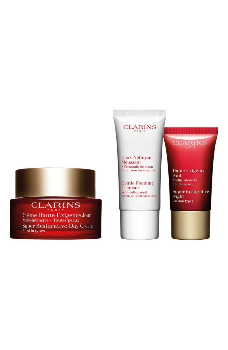 CLARINS Super Restorative Starter Set, Main, color, NO COLOR