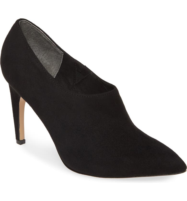 CHARLES BY CHARLES DAVID Oxy Shaftless Bootie, Main, color, BLACK