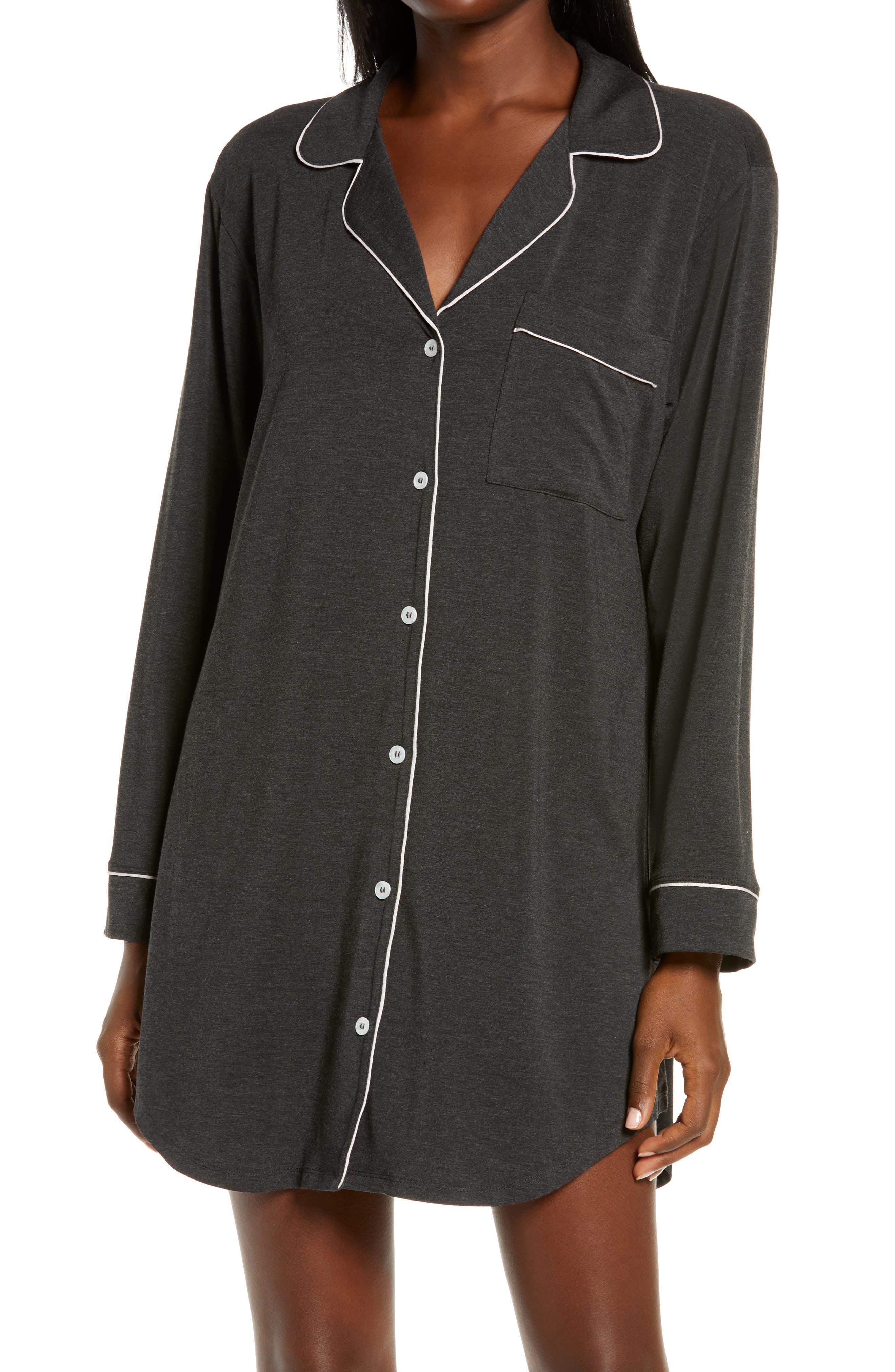 Gisele Stretch Jersey Sleep Shirt