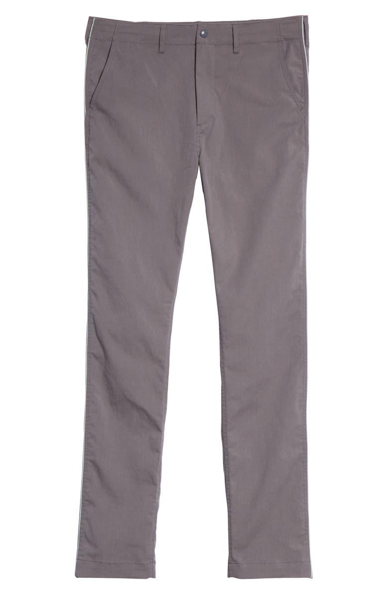 BEAMS Tech Chino Pants, Main, color, CHARCOAL GREY