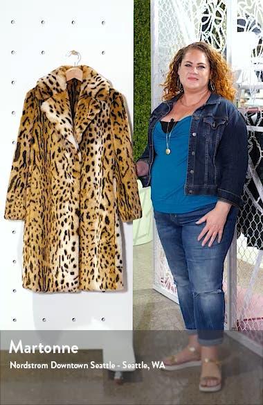 Leopard Faux Fur Coat, sales video thumbnail