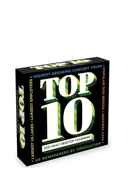 Image of TF Publishing 2021 Top Ten Daily Desktop Calendar