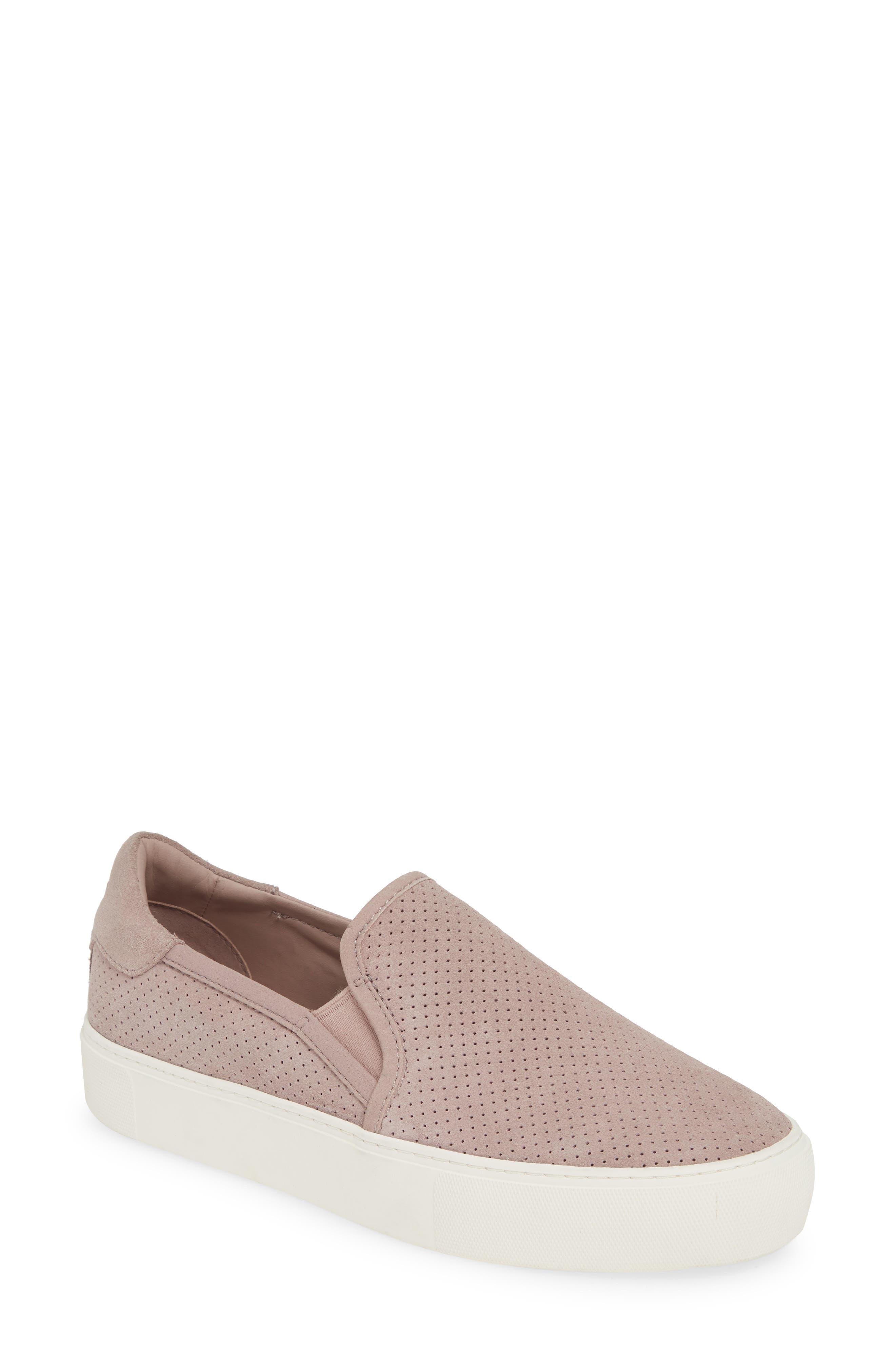 UGG® Abies Perforated Slip-On Platform Sneaker (Women)