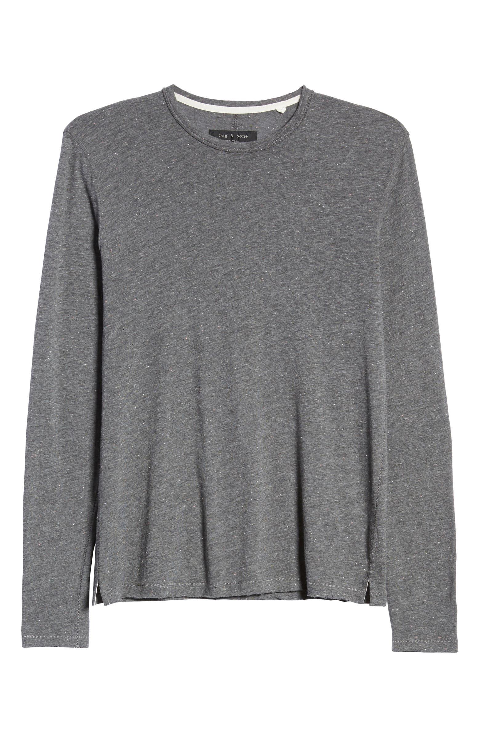 Lincoln Long Sleeve Slim Fit T-Shirt RAG & BONE