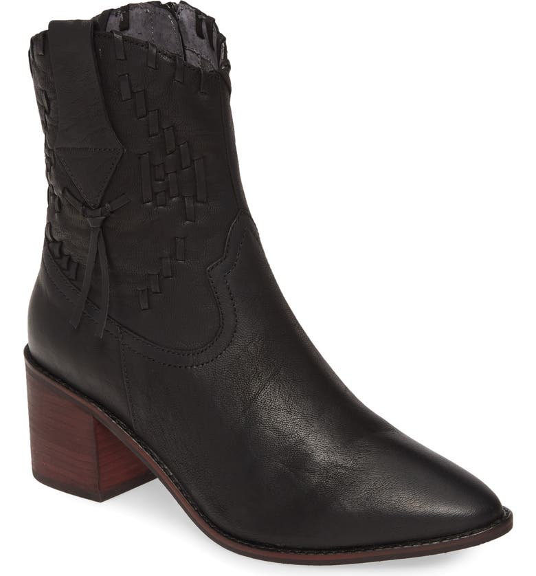 SEYCHELLES Hidden Agenda Boot, Main, color, BLACK LEATHER