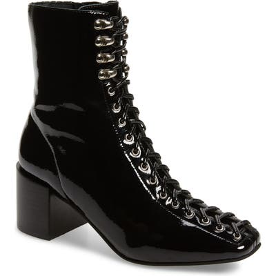 Jeffrey Campbell Belmondo Lace-Up Boot- Black