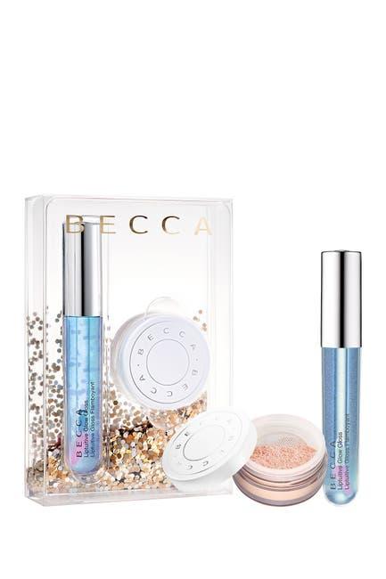 Image of BECCA Cosmetics Chill & Glow Setting Powder & Lip Gloss Duo