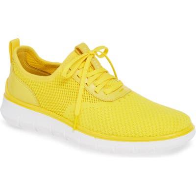 Cole Haan Generation Zerogrand Stitchlite Sneaker- Yellow