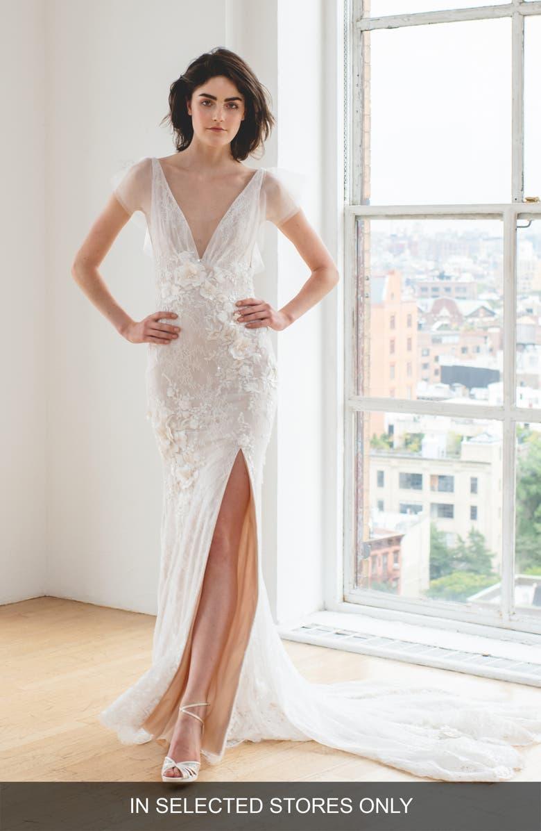 Pronovias Marissa Embellished Ballgown Wedding Dress Nordstrom