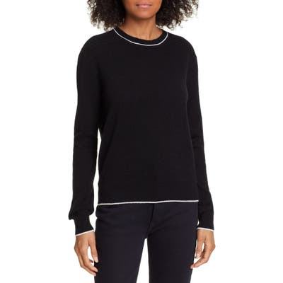 La Ligne Neat Wool & Cashmere Sweater, Black