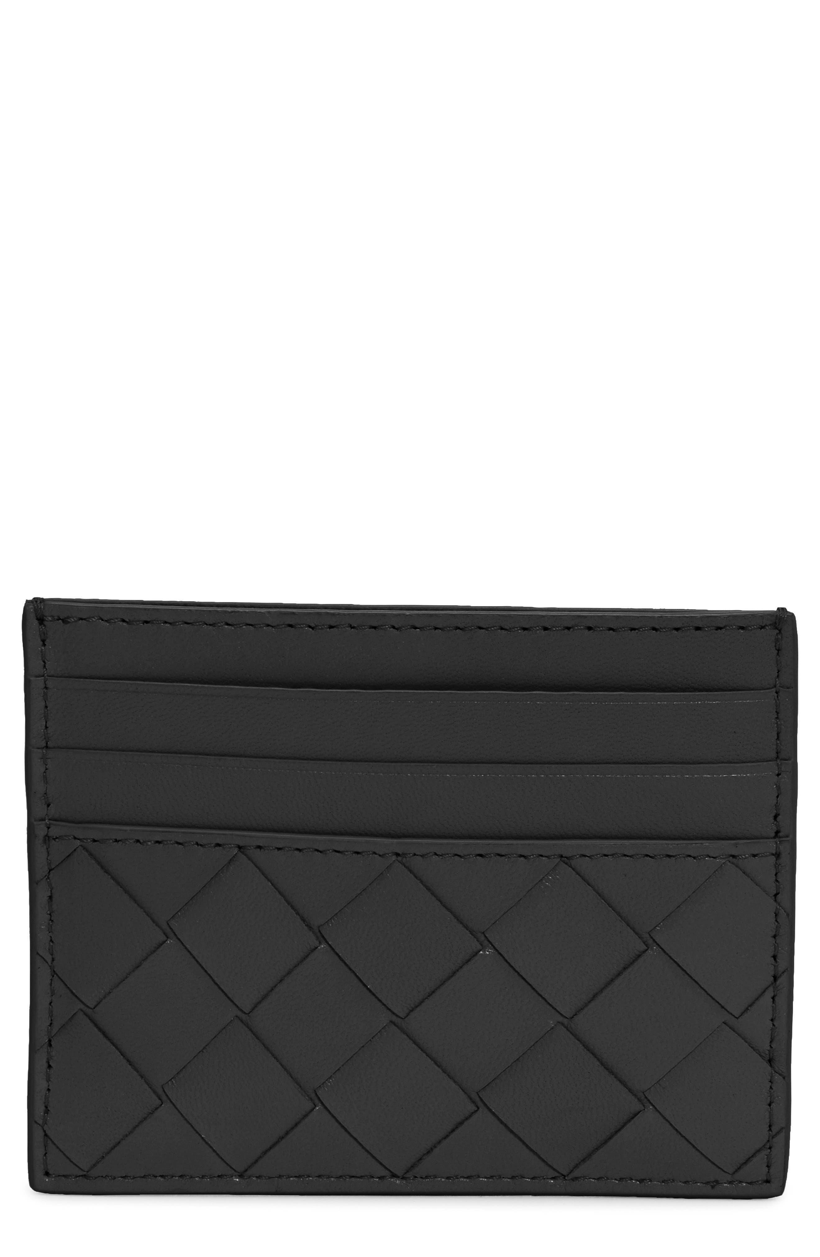 Bottega Veneta Intrecciato Leather Card Case | Nordstrom