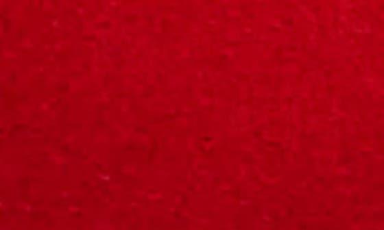KIMONO RED SUEDE
