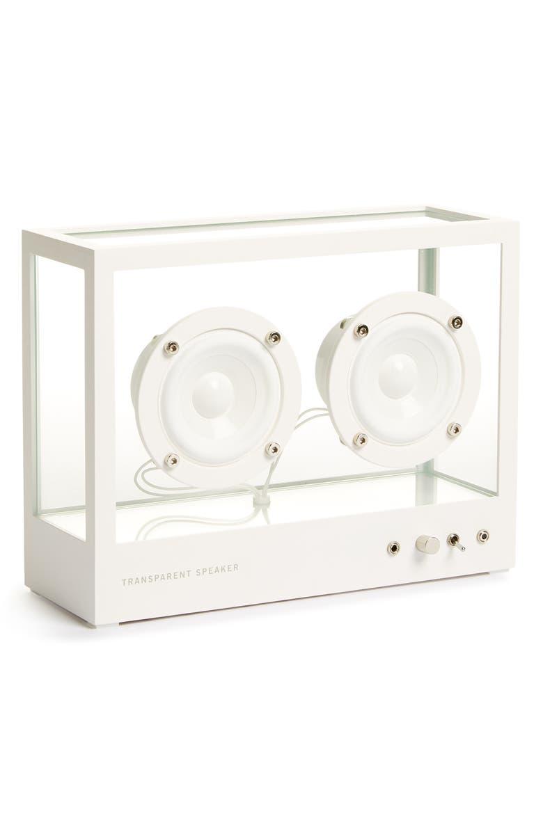 TRANSPARENT SOUND Small Transparent Speaker, Main, color, 100