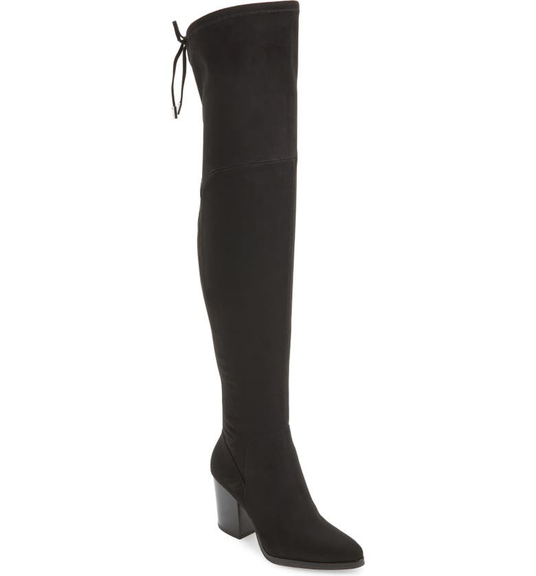MARC FISHER LTD Adora Over the Knee Boot, Main, color, 001