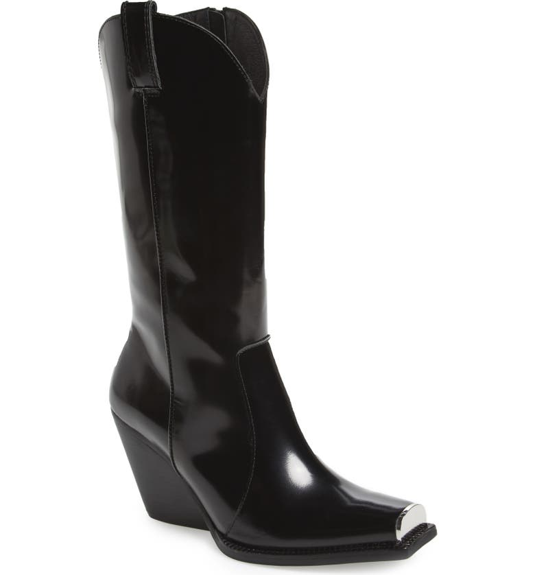 JEFFREY CAMPBELL Overkill Western Boot, Main, color, 016