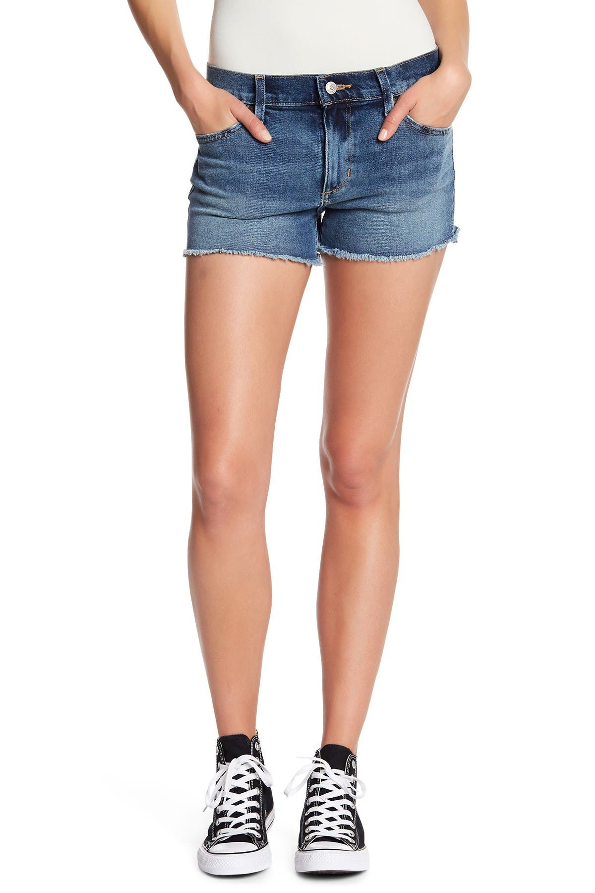 Image of Joe's Jeans Frayed Hem Shorts