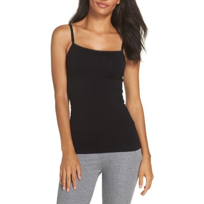 Yummie Seamlessly Shaped Convertible Camisole, Black
