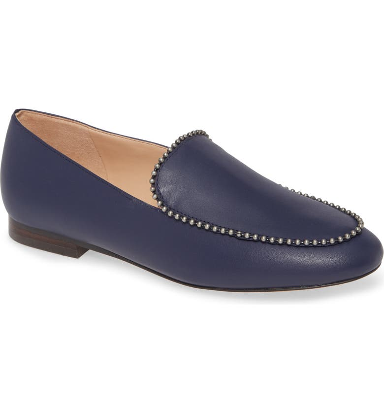 COACH Harper Ball Chain Loafer, Main, color, CADET LEATHER