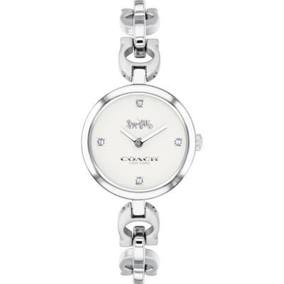 Coach Signature Chain Bracelet Watch, 2m