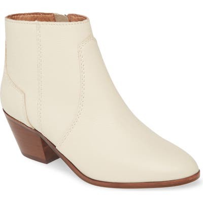 Madewell The Western Leather Boot- Ivory