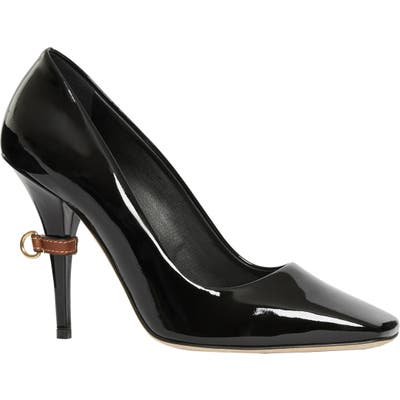 Burberry Norland Square Toe Pump - Black