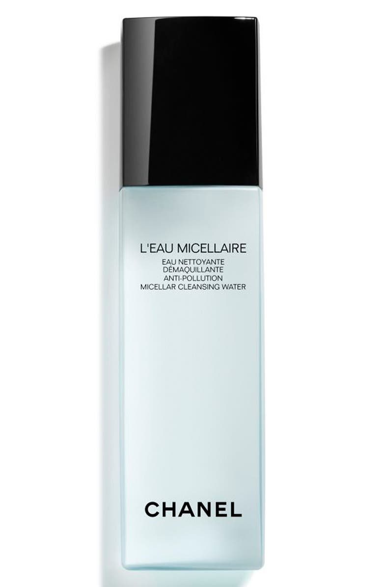 CHANEL L'EAU MICELLAIRE Anti-Pollution Micellar Cleansing Water, Main, color, 000
