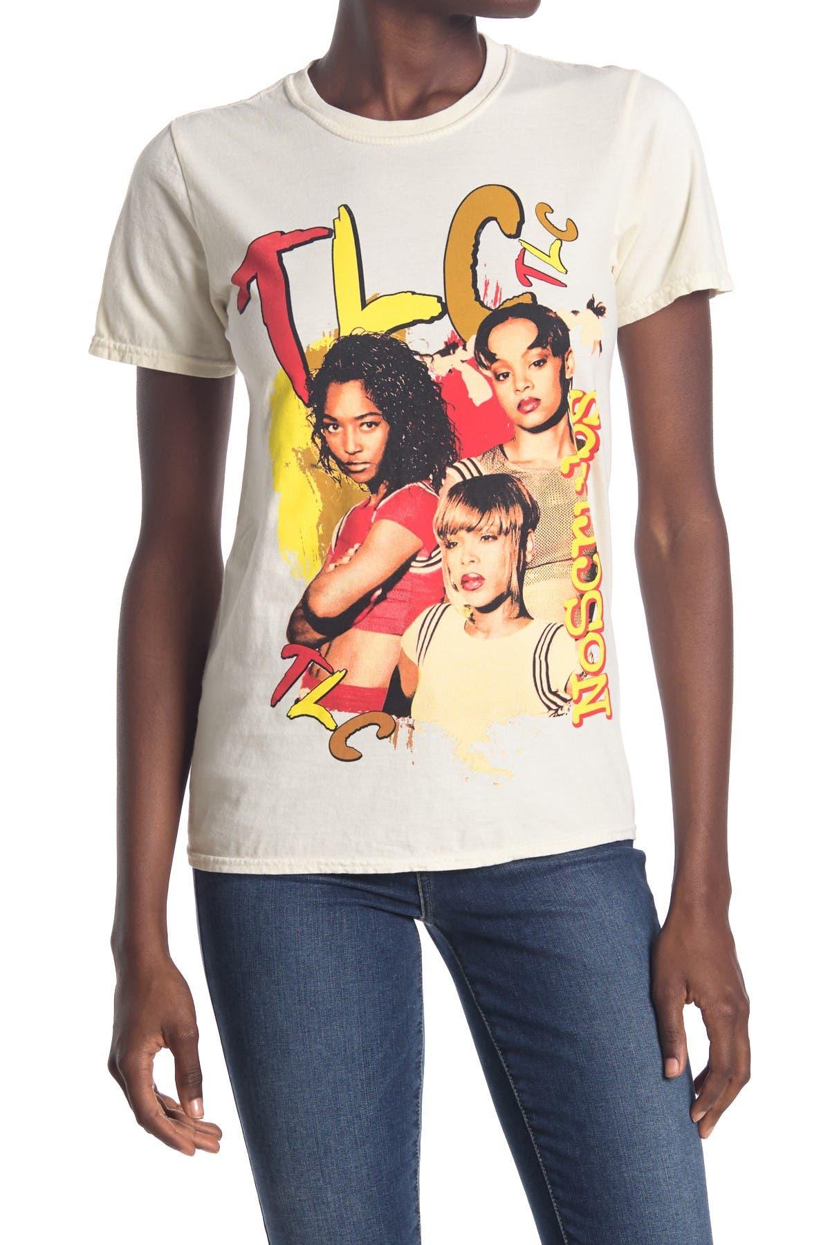 Image of MERCH TRAFFIC TLC Overdye Graphic T-Shirt