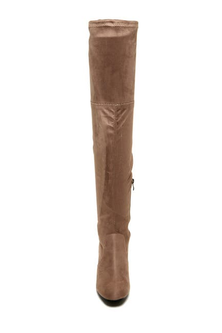Image of Catherine Catherine Malandrino Porcha Faux Fur Lined Over-the-Knee Boot